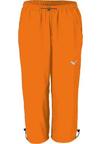 Trigema Damen 3/4 Freizeithose, Shorts Sportifs Femme Orange