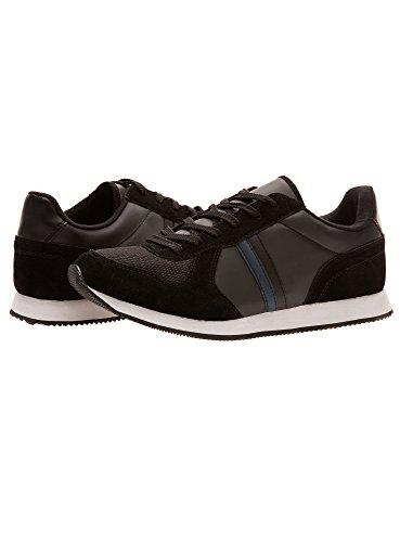 Sneakers Da Uomo Oodji Ultra Basic In Tessuto Nero Combinato (2979b)