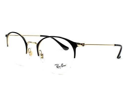 Ray-Ban Unisex-Erwachsene Brillengestelle 3578V Schwarz (Negro), 48