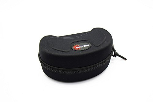 SUNREEK™Black Ski Goggle Hard Protective Carrying Case Sunglasses Case Protection Cover...