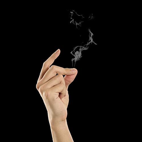 Doowops magic smoke papers magic smoke finger smoke dalle punte delle dita magic tricks apparendo smoke magic magician stage street gimmick illusions fun classic toys