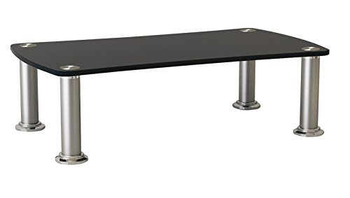 Value 17991307 Fernseher Top Sideboard Standfuß schwarz/Silber - Top Flachbild