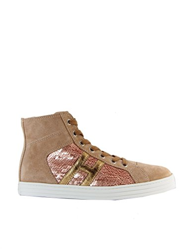 HOGAN REBEL BEIGE SNEAKERS - R141 MainApps Beige