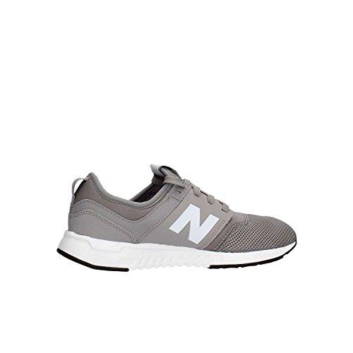New Balance KL247GRG Sneaker Bambino Bianco-Grigio