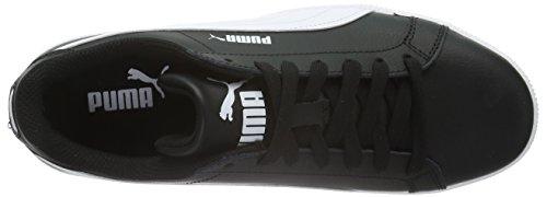 Puma Jungen Smash Fun L Sneaker Schwarz (Puma Black-Puma White 07)