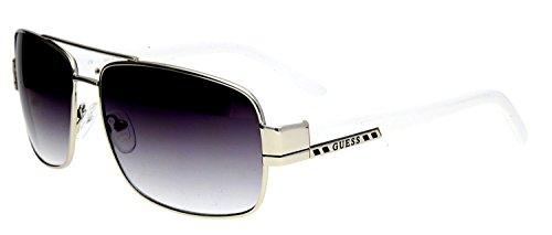 Preisvergleich Produktbild Guess Herren Sonnenbrille Silber GUF114-SI-35