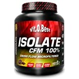 Vit-O-Best Isolate CFM 100% Proteínas, Sabor a Chocolate - 907 gr