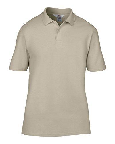 MAKZ Herren Poloshirt Grau - Cobblestone
