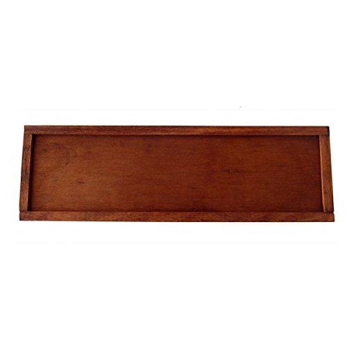 Holz Stumpf (Brieföffner Schwert König Artus, Bad Griff mit 24K Gold 0,05micron und Klinge mit Bad Silber 0,5Micron, aus Metall, mit Box aus Holz, Waffe dekorative Stumpf)