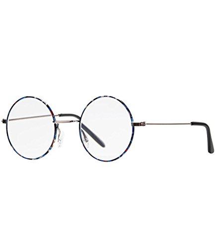 e2a8671374ab84 caripe Lesebrille rund silber Herren Damen Retro Vintage 60er Jahre Stil  Metall - M130 (rq163