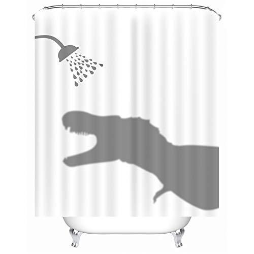 X laboratorio divertido Animales sombra–Cortina