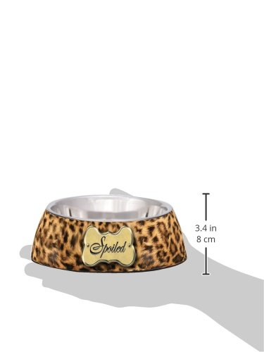 Loving-Pets-Spoiled-Leopard-Milano-Bowl-for-Dogs-Medium