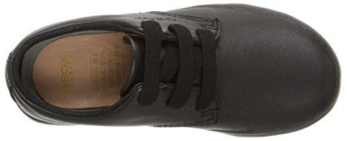 Geox Jungen Jr Kiwi Boy G Sneakers Schwarz (Blackc9999)