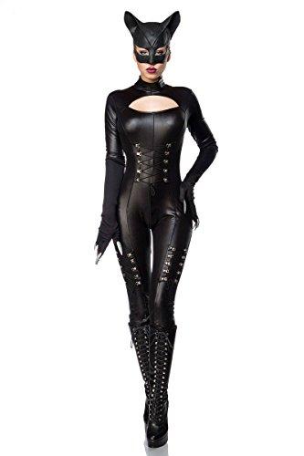 (Mask Paradise Sexy Catwoman, Damen Kostüm, Größe: L-XL)
