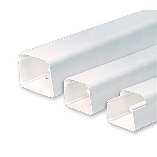 VECAMCO Canaleta para tuberías de Aire Acondicionado ClimaPlus 2Mts.