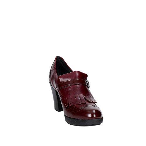 Pregunta IAL25933-BRR 001 Mocassin Femme Bordeaux