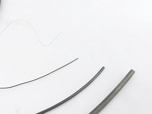fuxus® Nitinol Draht Formgedächtnis Legierung 1m lang (Stärke1mm) - Form-memory-draht