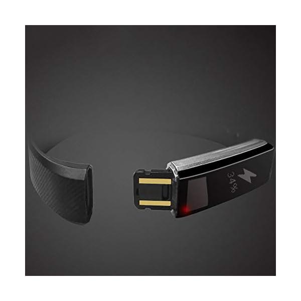 DNelo Reemplazo de Silicona Muñequera para Veryfit Id115 Id115Plus Inteligente Pulsera Correa de Reloj - para Veryfit… 8