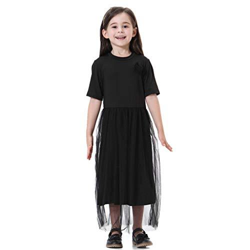 PPangUDing MäDchen Kleider Kinderkleidung Bekleidungsset Baby Sommerkleid Feste Tulle Prinzessin Dress Clothing