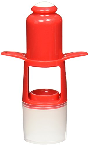 Norpro Cherry Olive Pitter Cup And Shield Reduces Kitchen Time For Pie Recipes