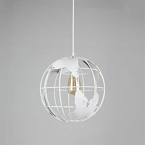 Moderno LED creativo de Globo Terráqueo–Lámpara LED de hierro de lámpara E27de lámpara LED de araña iluminación