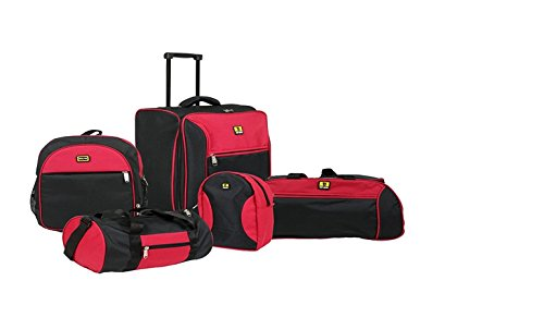 Top Gear 5Pcs Luggage Combo