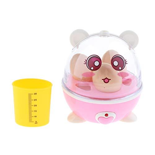 Fenteer Kinderküche Rollenspiele, Elektrischer Eierkocher, Batteriebetrieben, Küchenspielzeug