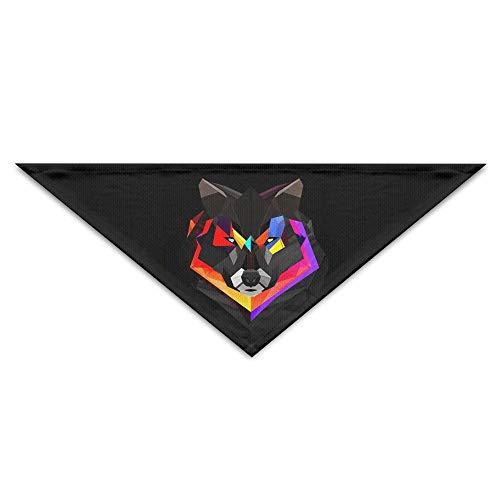 Baby Muster Kostüm Wolf - Gxdchfj Pet Triangle Bandana Space Wolf Lovers Washable Dog Puppy Scarf Bib Babys Neckerchief Accessories