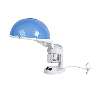 AceFox 2-in-1 Facial Steamer & Hair Hood with Ozone and Aroma for Beauty Salon Hairdressing