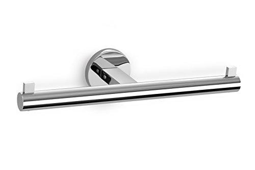 "ZACK 40052 \""SCALA\"" Doppel-Toilettenpapierhalter, Edelstahl hochglänzend"