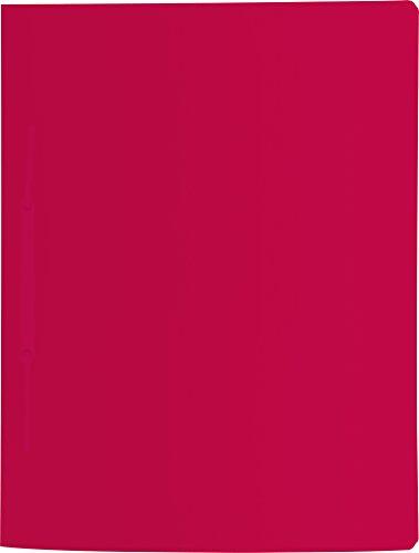 Brunnen Schnellhefter Fact! 31x24 cm A4 Kunststoff mit Amtsheftung Farbe rot