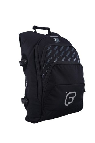 Fusion Bags F1 Laptop Backpack Bag Black - F1-66 B L BK - Fusion-computer-rucksack