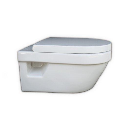 Preisvergleich Produktbild Villeroy&Boch Tiefspülklosett wasserrandlos Omnia arch.5684R0 370x530mm wandh. WeißAlpin, 5684R001