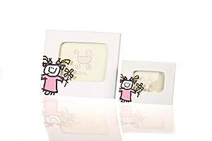 Disok Portafotos Toy poliresina niña, Horizontal, XL, Multicolor (6511H-XL)