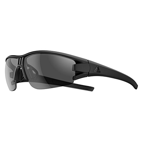 Adidas Brille evil eye halfrim ad08 - 9600 black matt grey (X-Small)