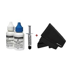 Arctic Silver 5–3,5Gramm mit ArctiClean 60ml Combo Kit + Mikrofaser (17,8x 15,2cm) Reinigungstuch