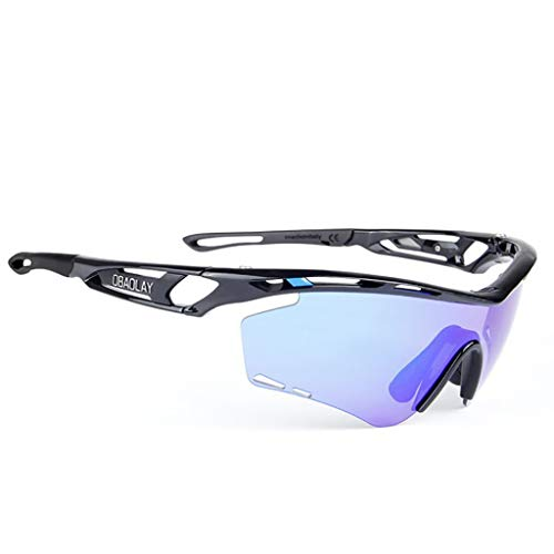 Bestehen Sie immer auf Erfolg Outdoor-Sport-Sand polarisierte Sonnenbrillen Reiten Brille Mode Menschen Stil (Color : #2)