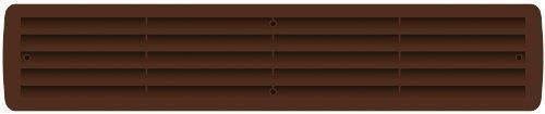 Malla de plástico Extractor de aire para baño Rejillas ventilación Ventilación de puerta 1 Par varios colores - Árbol De La Tuerca