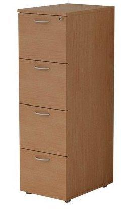 Un classificateur 4 tiroirs pour dossiers Suspension Eco Cm. 49X55X141,2H