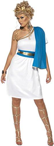 ONLYuniform Damen Erwachsene Legenden & Mythen Fancy Kleid Roman Beauty Kostüm Komplettes Outfit (Roman Kleid Kostüm)