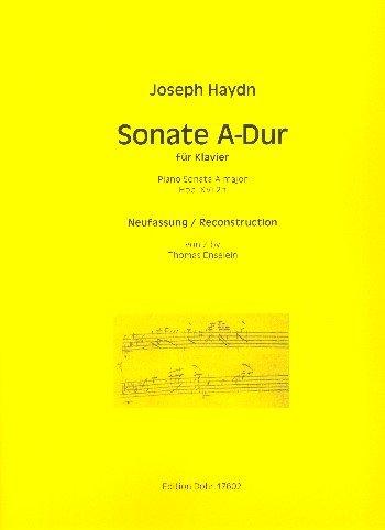 Haydn, Franz Joseph: Sonate A-Dur Hob.XVI:2h : für Klavier