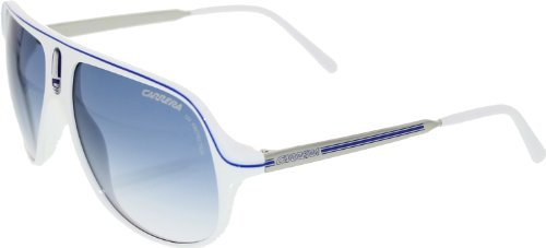 Carrera SAFARI R WHTAZUPAL/NY-AZURE SHD Sunglasses (SAFARI-R-CH6-1P-62-15-135)