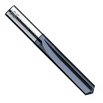 "Kodiak USA Made Letter W Diameter Solid Carbide Drill Carbide Straight Flute 1-3//8/"" Length of Cut 3/"" Overall Length 2 Flute Straight Flute Drill Bit"