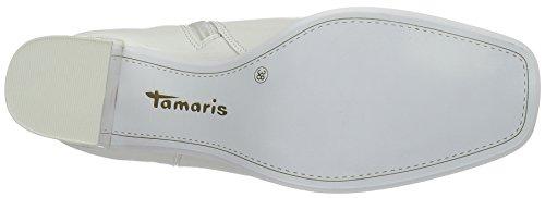 Tamaris 25302, Bottines sans doublure intérieure femme Blanc (White 100)