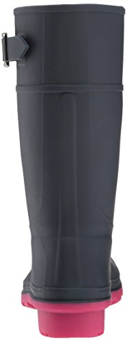 Kamik Raindrops, Bottes de Pluie fille Mehrfarbig (Navy/Rose)