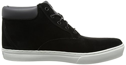 Timberland Dauset Chukka, Noir Chaussures À Col Montant Pour Homme