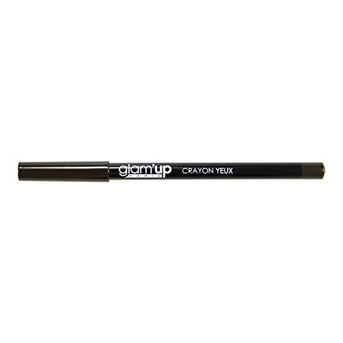 Glam'Up - Maquillage Yeux - Crayon Marron Foncé - Fabrication Européenne
