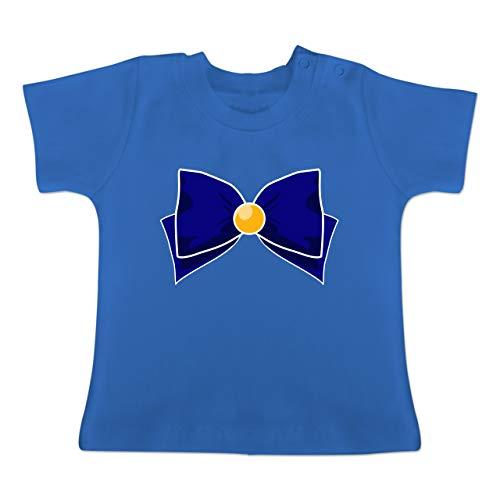 Karneval und Fasching Baby - Superheld Manga Venus Kostüm - 18-24 Monate - Royalblau - BZ02 - Baby T-Shirt (Baby Superheld Kostüm)