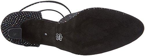 Diamant Damen Tanzschuhe 105-068-155, Chaussures de Danse de Salon Femme Schwarz (Schwarz/Multicolor)