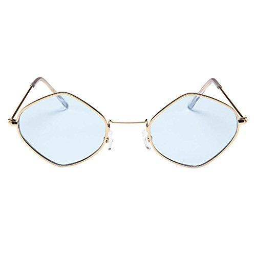 Retro Sonnenbrille,OYSOHE Neueste Der Retro Diamant Sonnenbrille Metallrahmen der Art und Weisemens Frauen schattiert Eyewear Brillen trends 2018